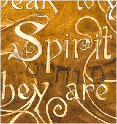 Spirit closeup