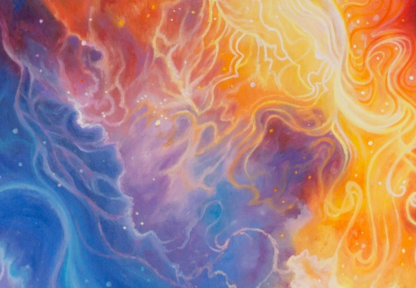 heavenly realms closeup