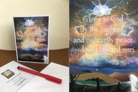 Glory to God card