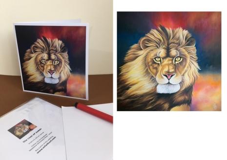 Lion of Judah card